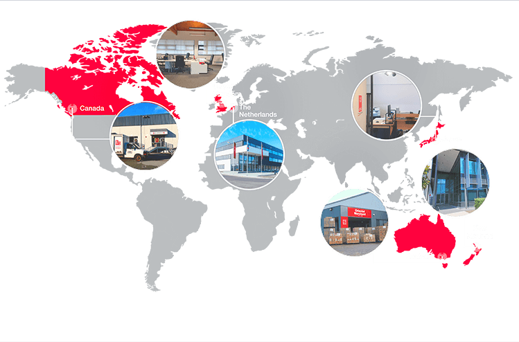 Banner Global Map